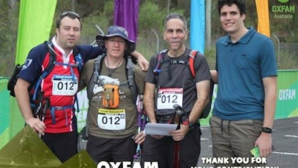 Our Oxfam Team Result