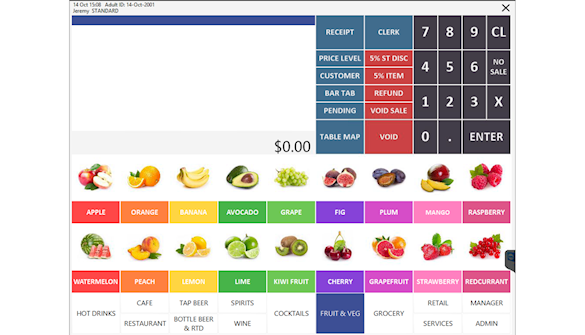 Configurable POS Screen